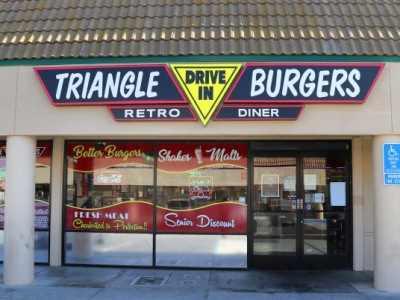 Triangle Drive In - Shaw Ave. Fresno, CA