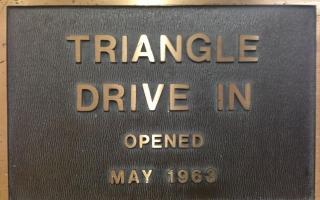 Triangle Drive In – Opened in May 1963