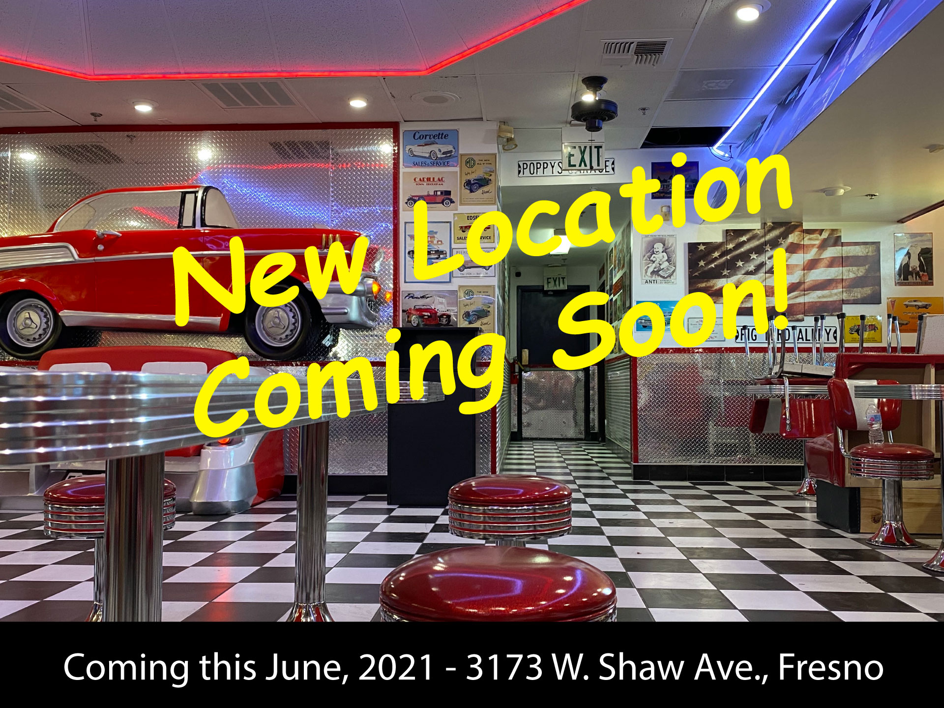 Triangle Drive In - New Location on Shaw and Marks in Fresno, CA